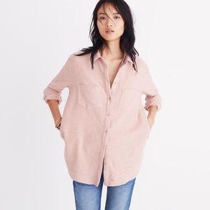 Madewell Sunday Shirt - Pink